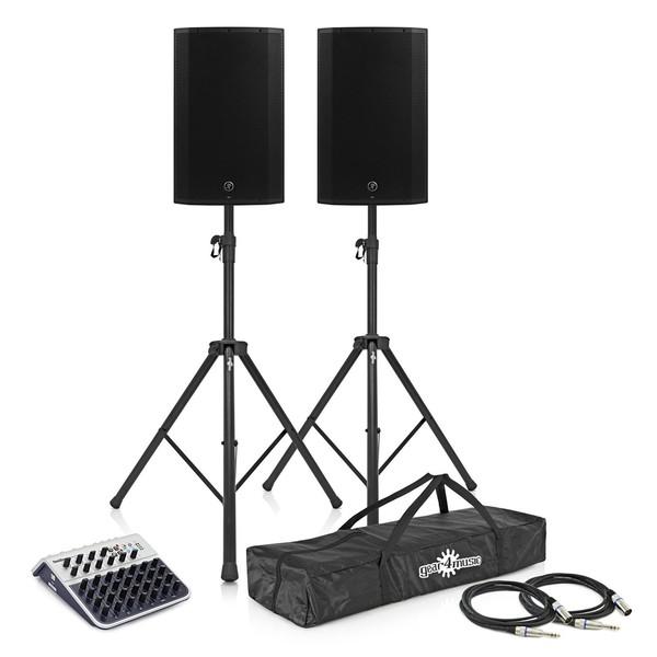 Mackie Thump12A Active PA Speaker Bundle