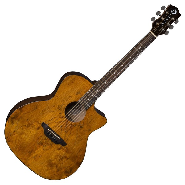 Luna Gypsy Spalt Grand Auditorium Acoustic Guitar Front View