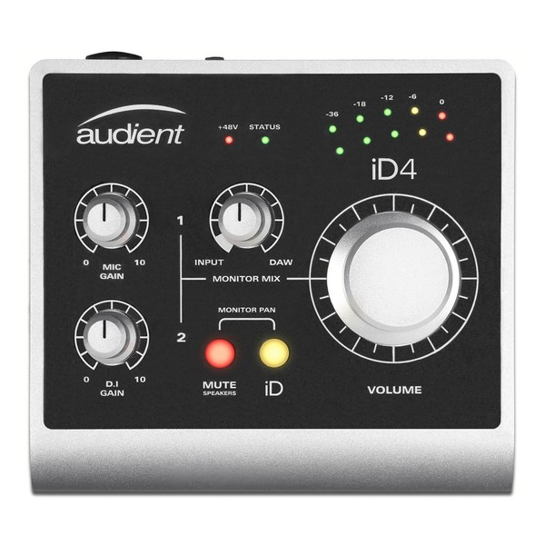 Audient ID4 Audio Interface - Top