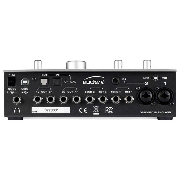 iD22 USB Audio Interface - Rear