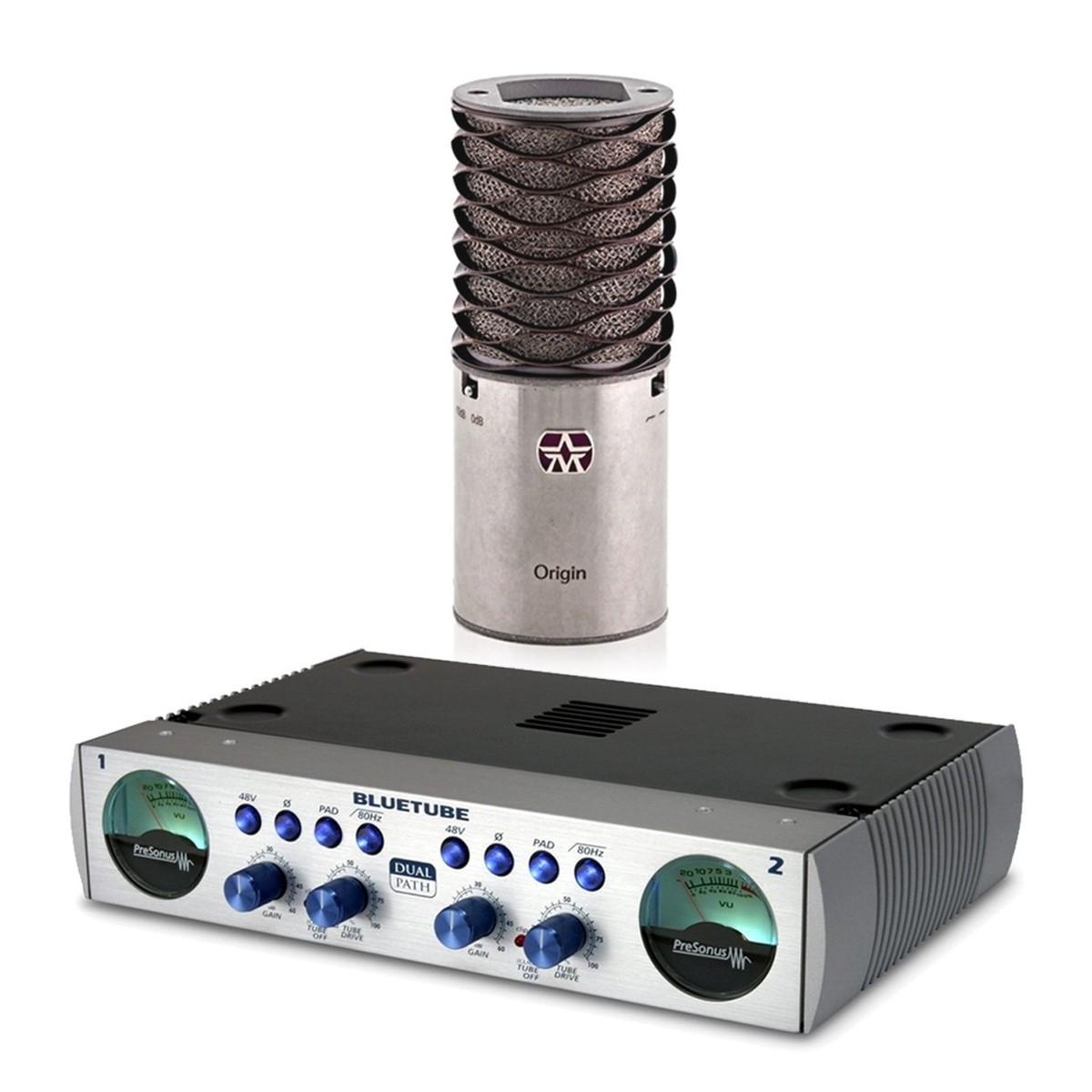 aston microphones origin with presonus bluetube preamp at. Black Bedroom Furniture Sets. Home Design Ideas