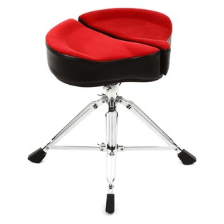 Ahead Spinal G Drum Throne with Base, Red