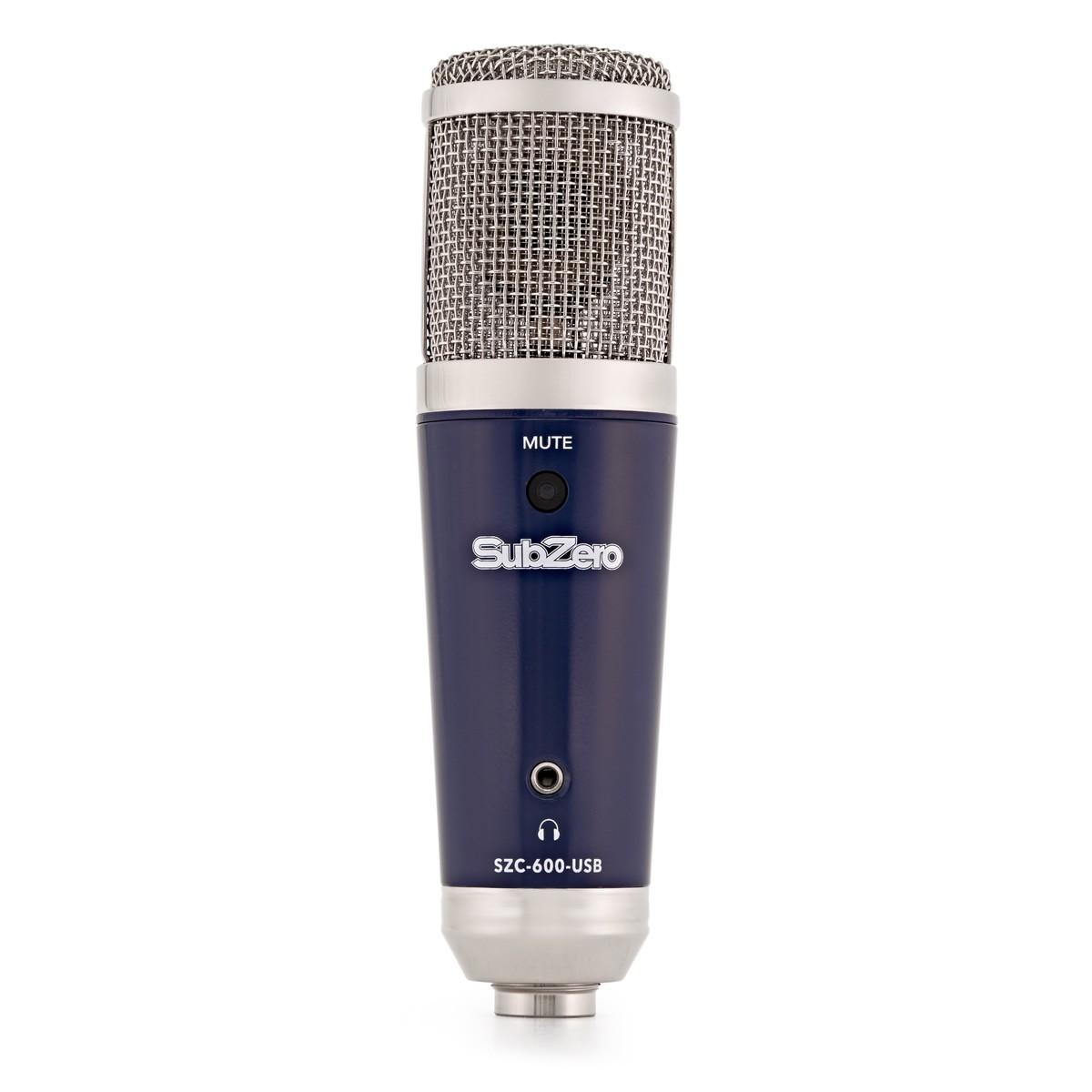 subzero szc 600 usb condenser microphone at gear4music. Black Bedroom Furniture Sets. Home Design Ideas