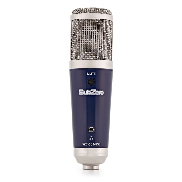 SubZero SZC-600 USB, Mute, Headphone Condenser Microphone