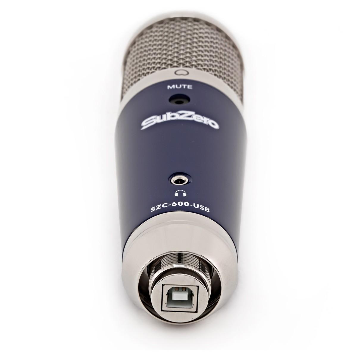 SubZero SZC 600 USB Kondensatormikrofon | Gear4music