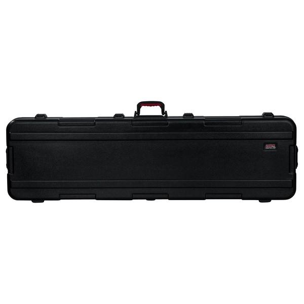 Gator TSA ATA Slim XL 88-note Keyboard Case with Wheels - Front