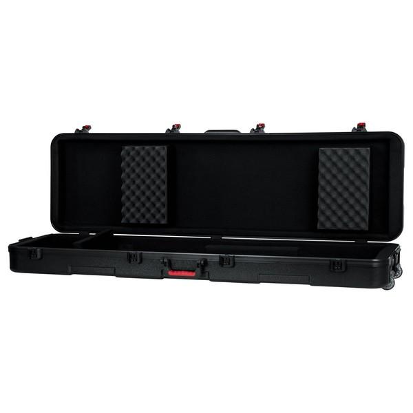 Gator TSA ATA Slim XL 88-note Keyboard Case with Wheels - Interior