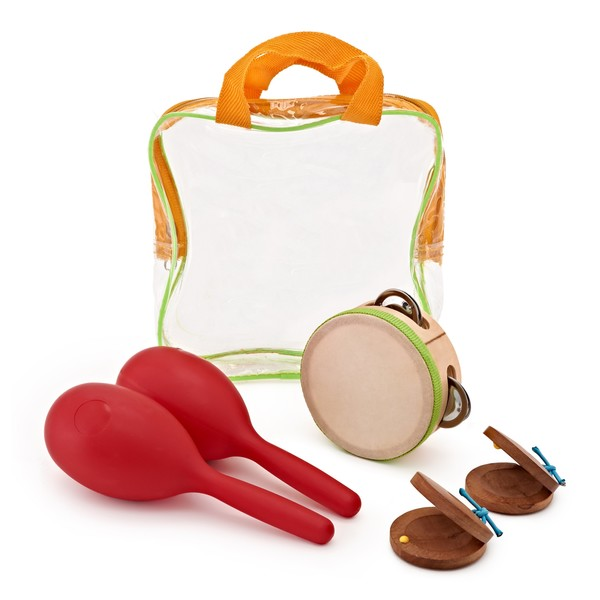 Shake and Jingle 3 Piece Kids Percussion Set by Gear4music