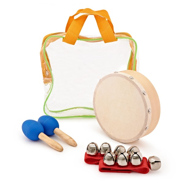 Drum and Jingle 3 Piece Kids Percussion Set by Gear4music