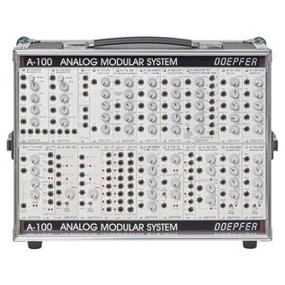 Doepfer A-100 Basic System 1 P6 PSU3 - Front