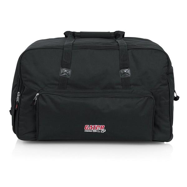 """Gator GPA-715 Rolling Speaker Bag For Most 15"""" Speakers - Front"""