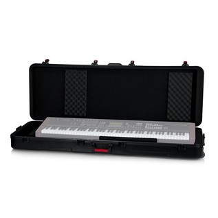 Gator GTSA-KEY88 TSA ATA 88 Key Case with Wheels - with Keyboard inside (keyboard not included)