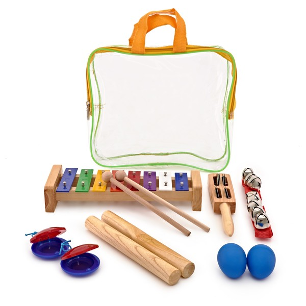 Rhythm Selection 6 Piece Kids Percussion Set by Gear4music