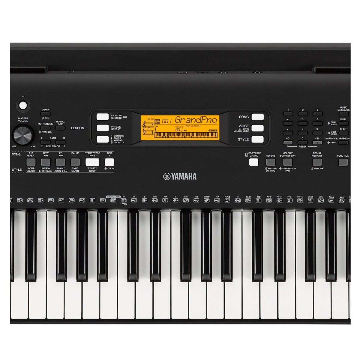 yamaha psr ew300 portable keyboard box opened at gear4music. Black Bedroom Furniture Sets. Home Design Ideas