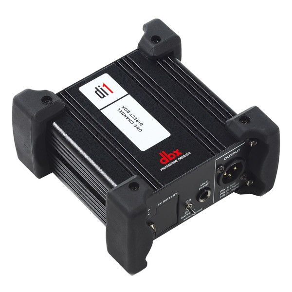 DBX DI1 Direct Injection Box - Angled