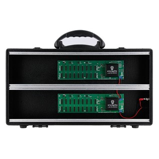 Erica Synths Travel Case with Integrated PSU - Front