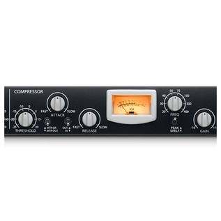 PreSonus RC 500 1 Channel Solid State Channel Strip - Compressor Close Up