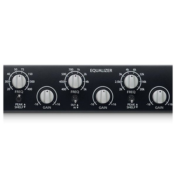 PreSonus RC 500 1 Channel Solid State Channel Strip - EQ Close Up