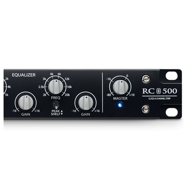 PreSonus RC 500 1 Channel Solid State Channel Strip - Controls Close Up