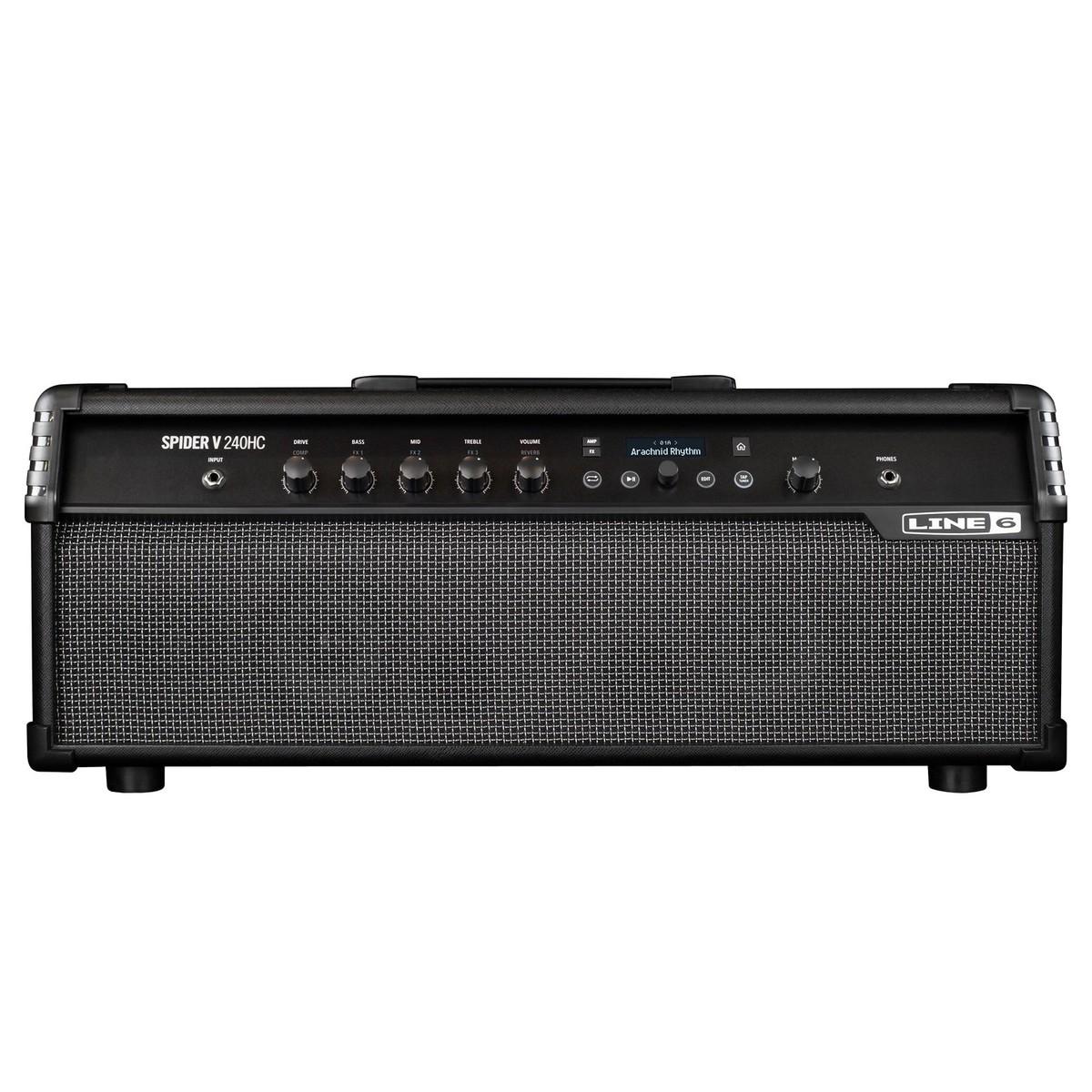 line 6 spider v 240 hc guitar amp head box opened at gear4music. Black Bedroom Furniture Sets. Home Design Ideas