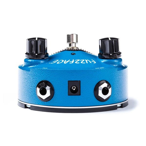 Jim Dunlop Fuzz Face Mini Silicone Blue FFM1 Top