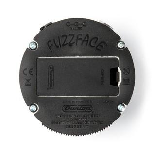 Jim Dunlop Fuzz Face Mini Hendrix Turquoise FFM3 Back