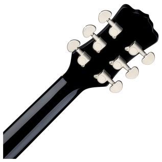 Luna Fauna Dragon Electro Acoustic Guitar Back of Neck View