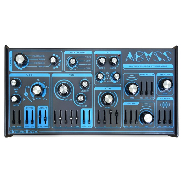 Dreadbox Abyss 4 Voice Polyphonic Synthesizer - Top