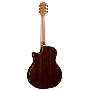Luna Vista Mustang Electro Acoustic Guitar Back View