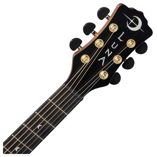 Luna Vista Mustang Electro Acoustic Guitar Neck & Headstock View