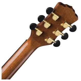 Luna Vista Mustang Electro Acoustic Guitar Back of Neck View
