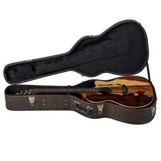 Luna Vista Mustang Electro Acoustic Guitar Case View