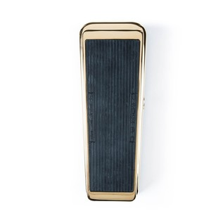 Jim Dunlop 50th Anniversary Gold Plated Cry Baby Wah Pedal Top