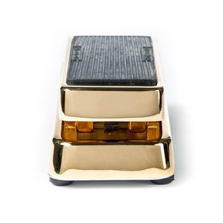 Jim Dunlop 50th Anniversary Gold Plated Cry Baby Wah Pedal Back