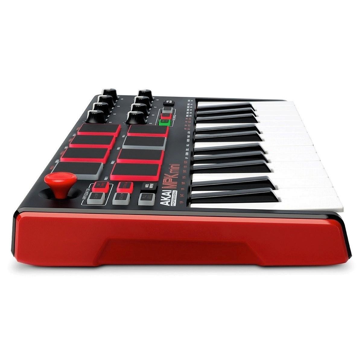 akai mpk mini mk 2 laptop production keyboard box opened at gear4music. Black Bedroom Furniture Sets. Home Design Ideas