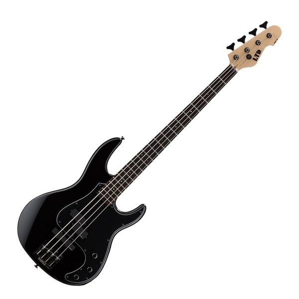 ESP LTD AP 4-String Bass Guitar, Black