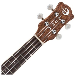 Luna Heartsong Electro Acoustic Concert Ukulele with USB Output Neck & Headstock View