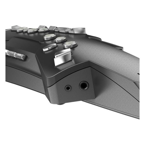 AE10-G Aerophone, Graphite Black, Input Output