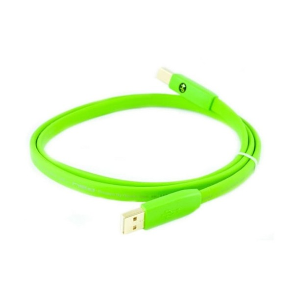 Neo Oyaide d+ USB Class B 1M Cable Green