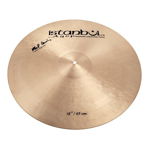 "Istanbul Agop 18"" Mel Lewis 1982 Signature Crash Cymbal"