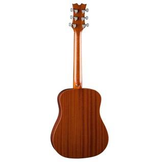 Dean Flight Series Travel Acoustic Guitar, Mahogany Back View