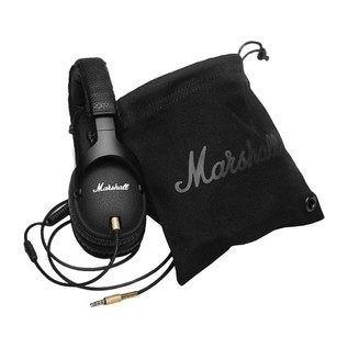 Marshall Over-Ear Monitoring Headphones, Black - With Pouch