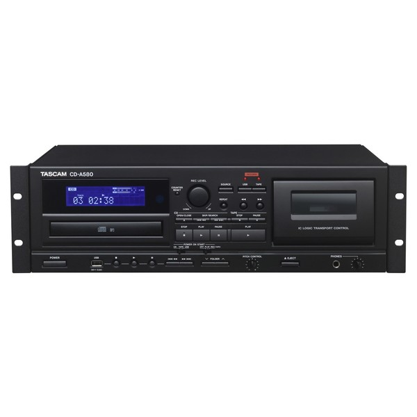 Tascam CD-A580 Multi-Purpose Player - Front