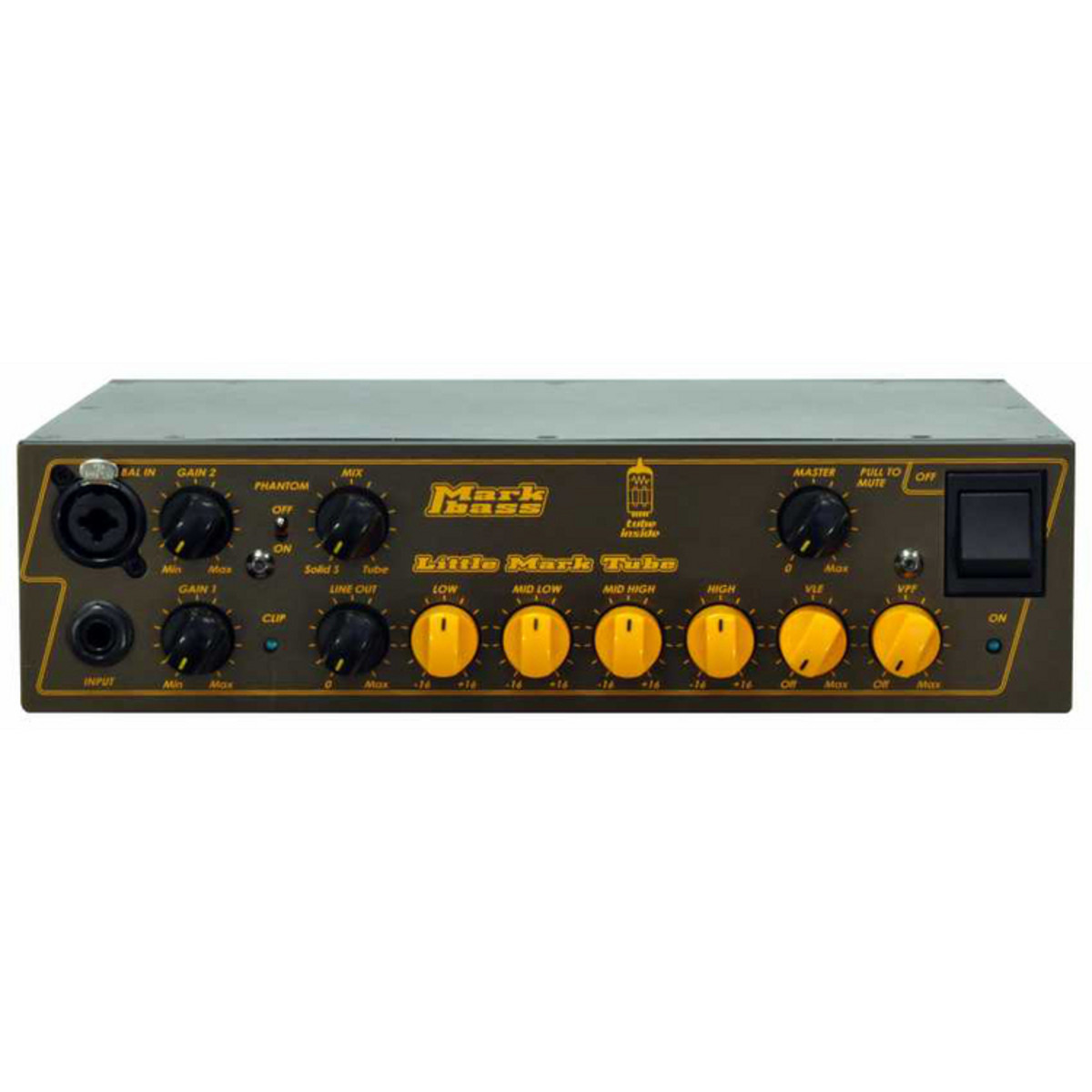 Click to view product details and reviews for Markbass Little Mark 500w Tube Bass Amp Head Box Opened.