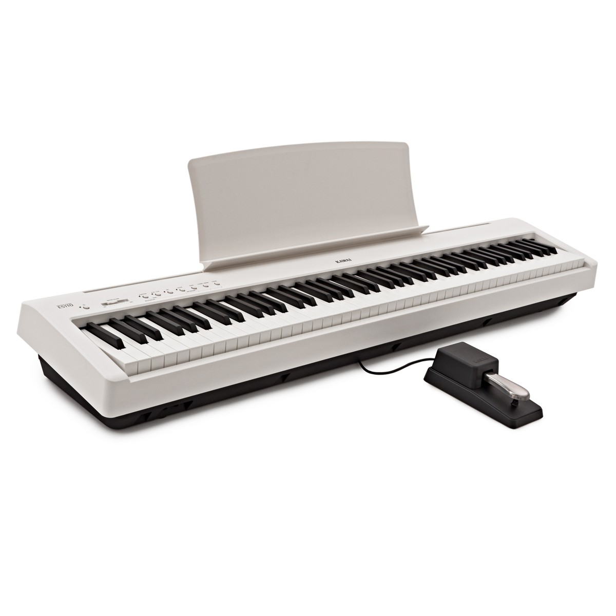 kawai es110 digital stage piano white at gear4music. Black Bedroom Furniture Sets. Home Design Ideas