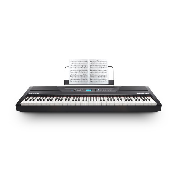 Alesis Recital Pro 88 Note Digital Piano - Front (book not included)