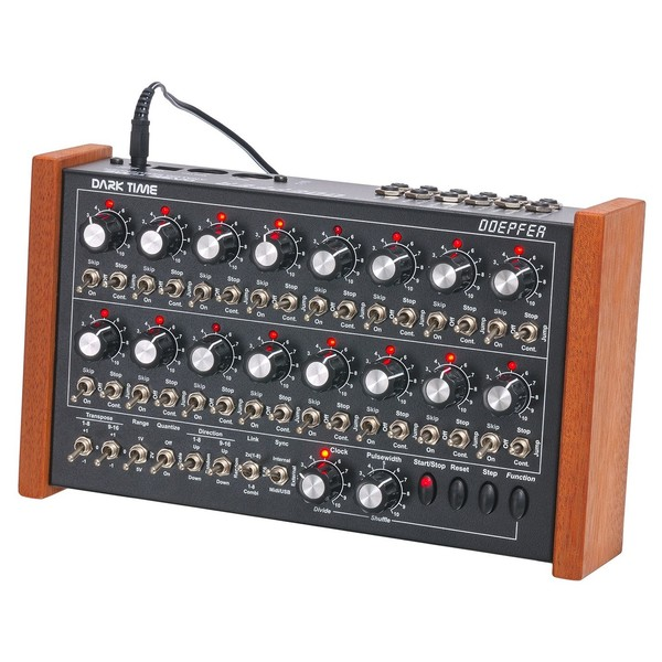 Doepfer Dark Time Analog Sequencer - Angled