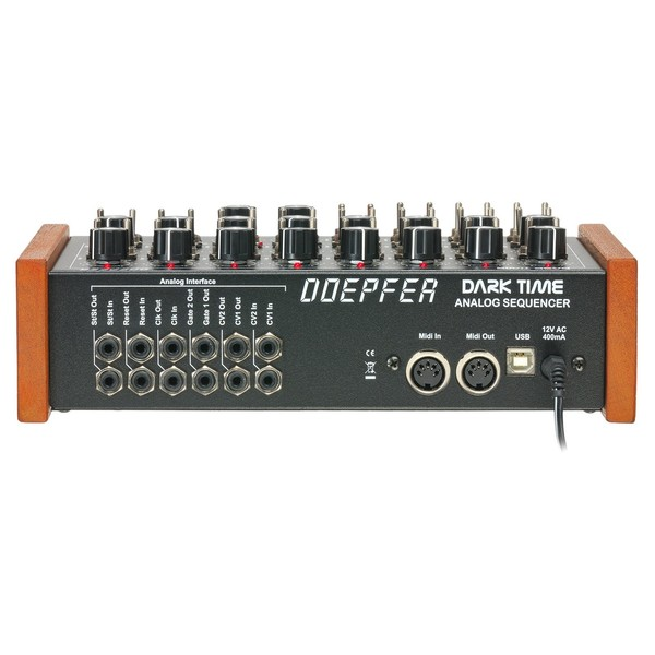 Doepfer Dark Time Analog Sequencer - Rear