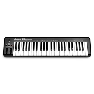 Alesis Q49, 49 Key USB/MIDI Keyboard Top
