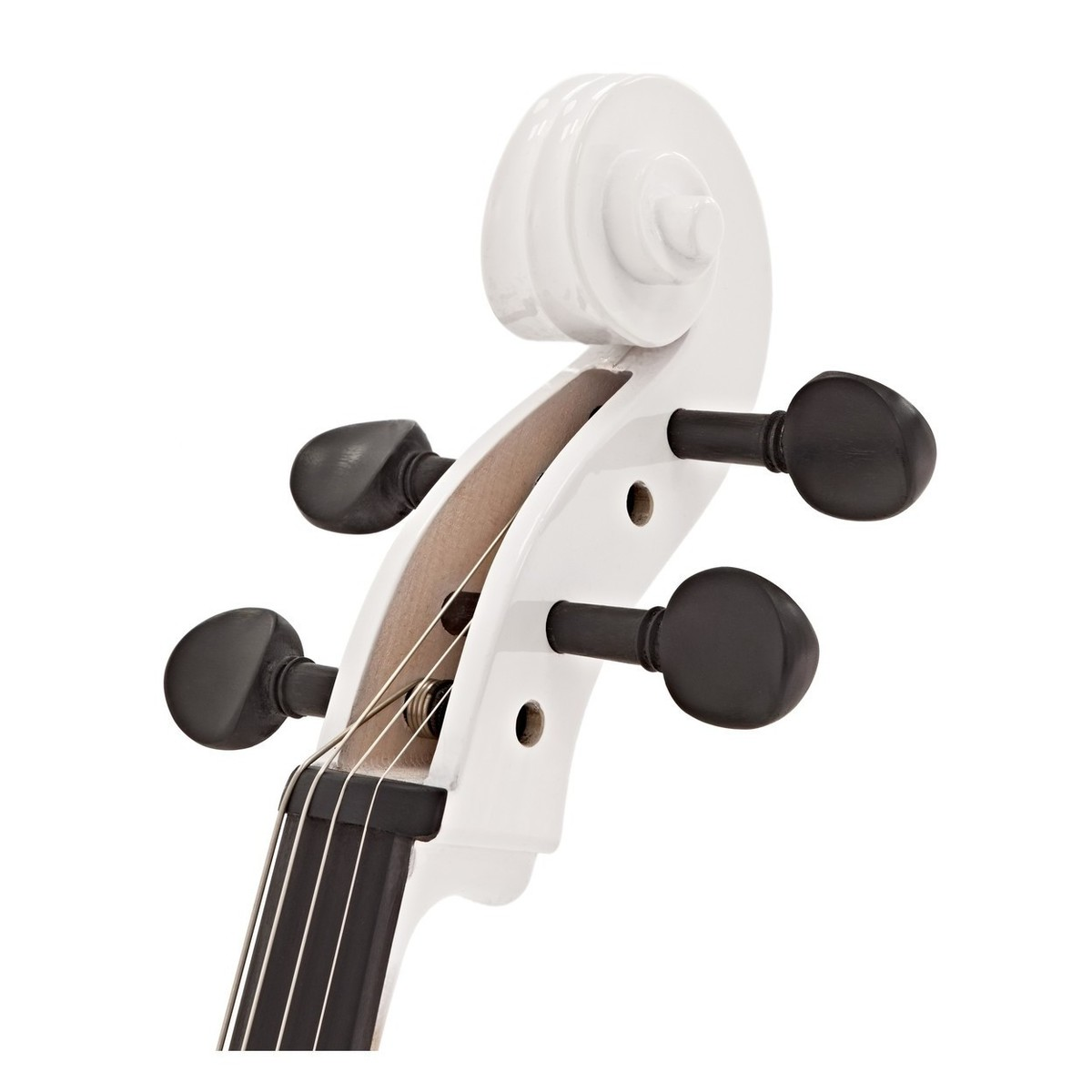 electric cello by gear4music white w headphones at gear4music. Black Bedroom Furniture Sets. Home Design Ideas